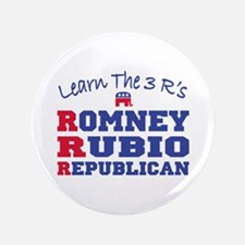 "Romney Rubio Republican 2012 3.5"" Button"