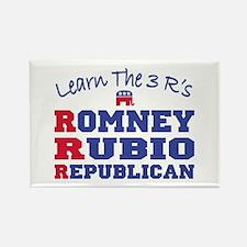 Romney Rubio Republican 2012 Rectangle Magnet
