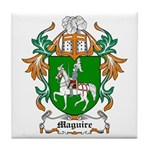 Maguire Coat of Arms Tile Coaster