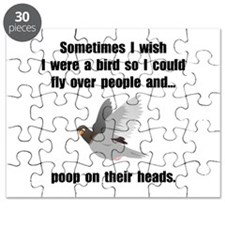 Bird Poop On Head Puzzle