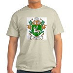 Maguire Coat of Arms Ash Grey T-Shirt