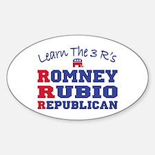 Romney Rubio Republican 2012 Decal