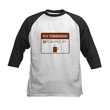 Fly Fisherman Powered by Coffee Tee