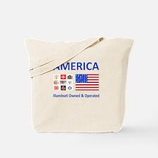 Illuminati Owned and Operated Tote Bag