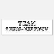 Team Sunol-Midtown Bumper Bumper Bumper Sticker