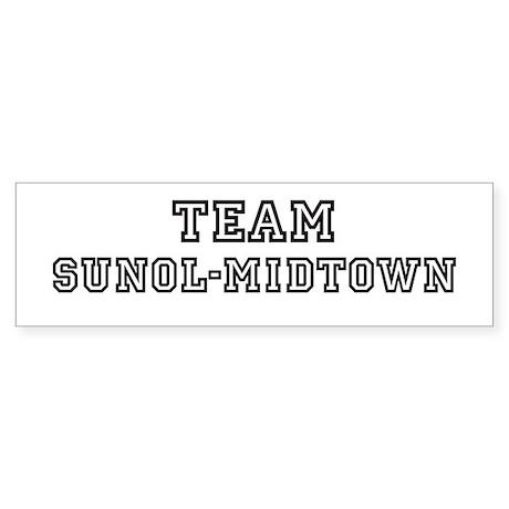 Team Sunol-Midtown Bumper Sticker