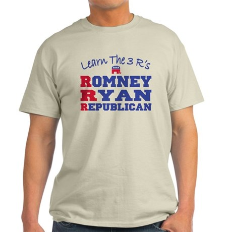 Romney Ryan Republican 2012 Light T-Shirt