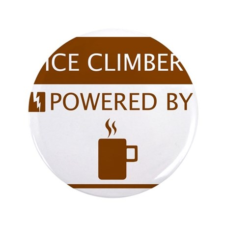 """Ice Climber Powered by Coffee 3.5"""" Button"""