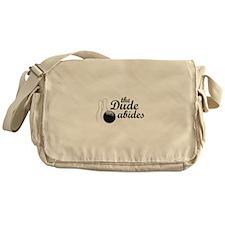 The Dude Abides Messenger Bag