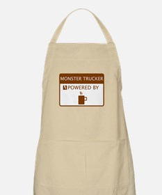 Monster Trucker Powered by Coffee Apron
