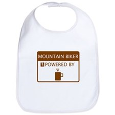 Mountain Biker Powered by Coffee Bib