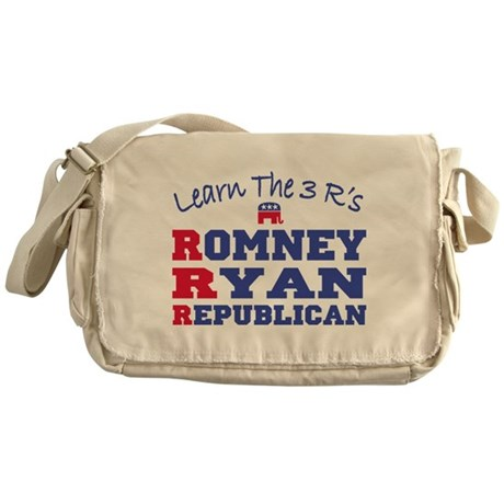 Romney Ryan Republican 2012 Messenger Bag