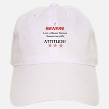 Brain Tumor Survivor with Attitude Baseball Baseball Cap