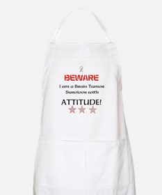 Brain Tumor Survivor with Attitude Apron