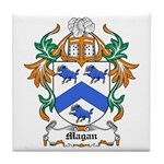 Magan Coat of Arms Tile Coaster