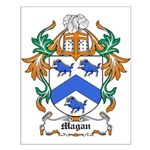 Magan Coat of Arms Small Poster