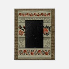 Traditional Ukrainian Embroidery Picture Frame