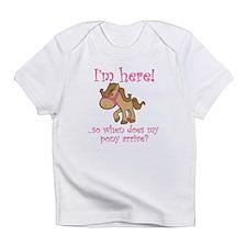 Cute Equestrian Infant T-Shirt