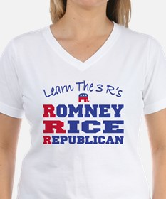 Romney Rice Republican 2012 Shirt