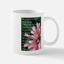 Love Is Patient Mug