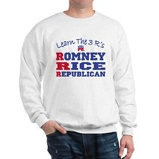 Romney Rice Republican 2012 Sweatshirt