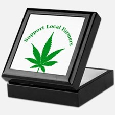 Support Local Farmers Keepsake Box