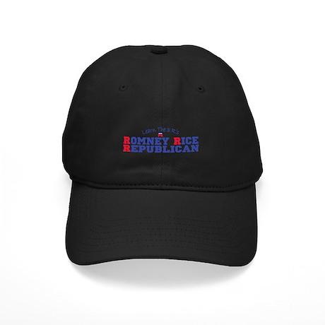 Romney Rice Republican 2012 Black Cap