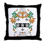 Madock Coat of Arms Throw Pillow