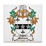 Madock Coat of Arms Tile Coaster