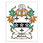 Madock Coat of Arms Small Poster