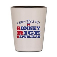 Romney Rice Republican 2012 Shot Glass