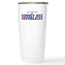 Romney Rice Republican 2012 Travel Mug