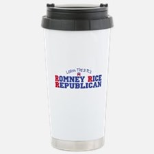 Romney Rice Republican 2012 Travel Mug