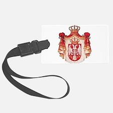 Srbija Luggage Tag