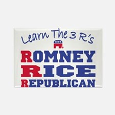Romney Rice Republican 2012 Rectangle Magnet
