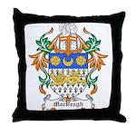 MacVeagh Coat of Arms Throw Pillow
