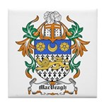 MacVeagh Coat of Arms Tile Coaster