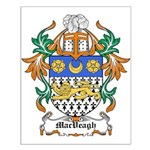 MacVeagh Coat of Arms Small Poster