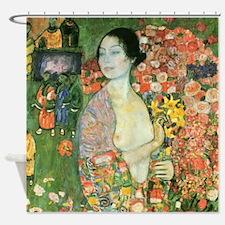 Gustav Klimt The Dancer (Detail) Shower Curtain