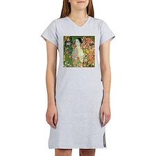 Gustav Klimt The Dancer (Detail) Women's Nightshir
