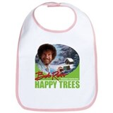 Bob ross happy trees Cotton Bibs