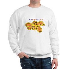OYOOS Kidknowitall design Sweatshirt