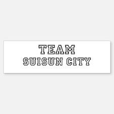 Team Suisun City Bumper Bumper Bumper Sticker