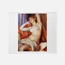 Renoir Sleeping Baigneuse Throw Blanket