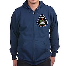Gordon Tartan Penguin Zip Hoody