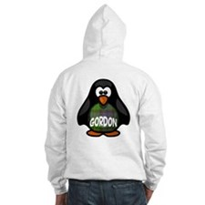 Gordon Tartan Penguin Jumper Hoody