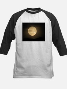full moon Kids Baseball Jersey