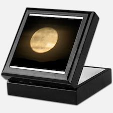 full moon Keepsake Box