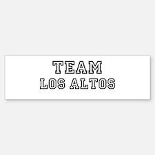 Team Los Altos Bumper Bumper Bumper Sticker