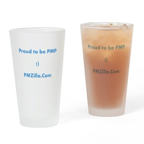 PMP Certified Drinking Glass